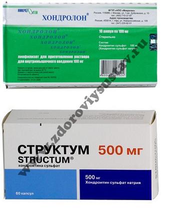 Хондропротекторы для лечения позвоночника